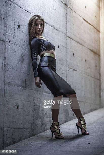 Dark Fashion Woman