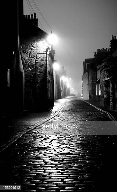 Dark Foggy Street