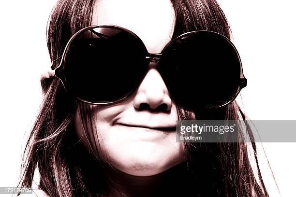 Dark glasses