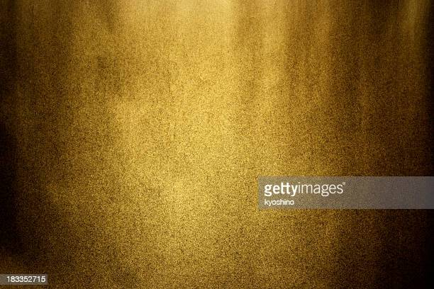 dark gold texture background with spot light - gilded stock pictures, royalty-free photos & images