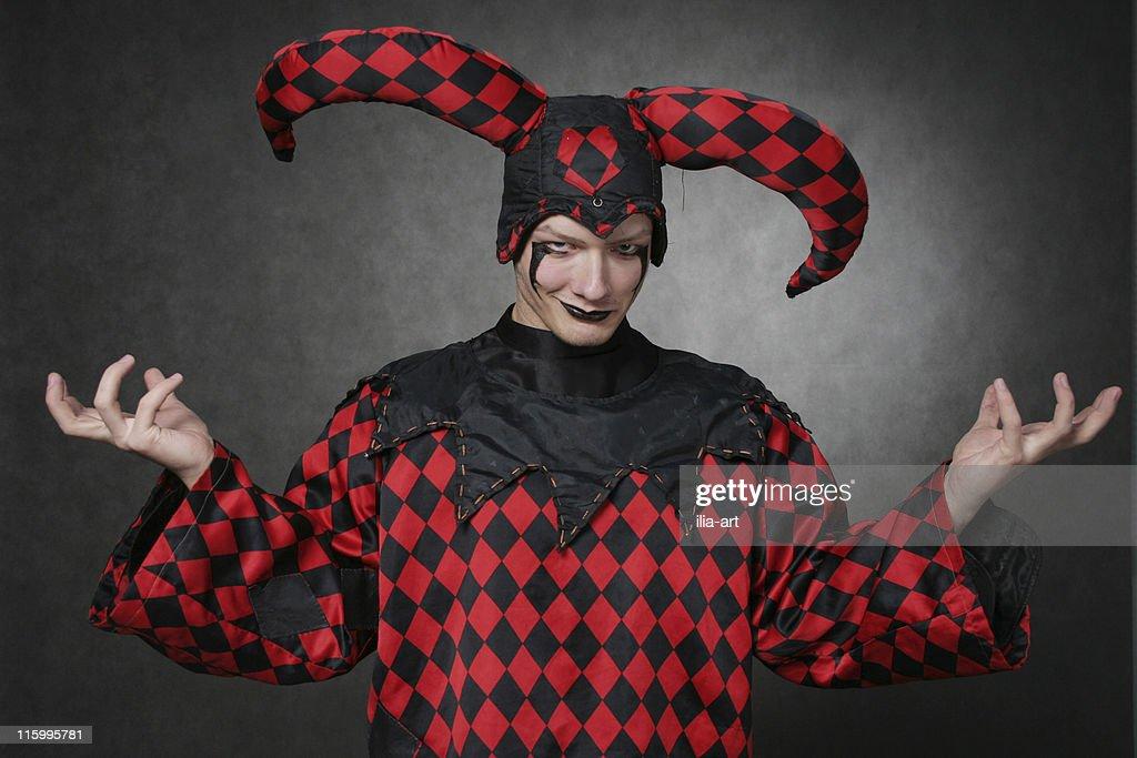 Dark harlequin : Stock Photo