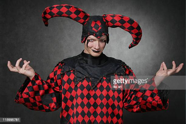 dark harlequin - harlequin stock photos and pictures