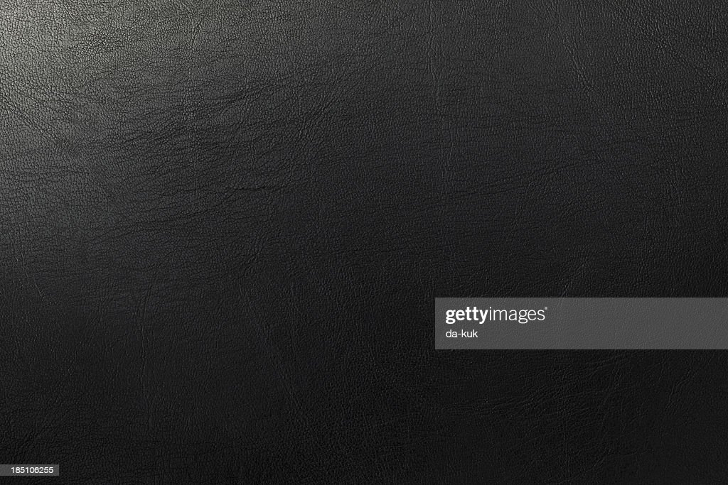 Dark leather texture : Stock Photo