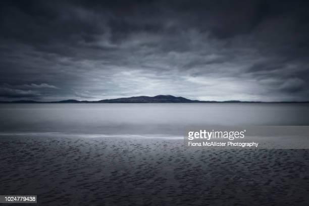 Dark Moody Coastal Seascape Solway Firth
