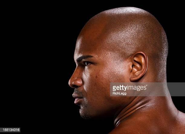 Dark Portrait of a Man
