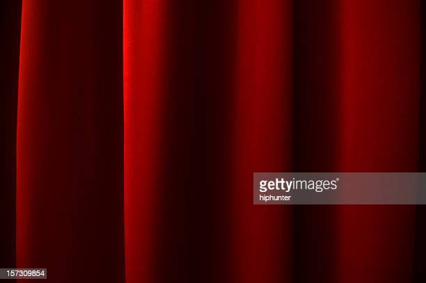 dark red curtain - stage curtain stock pictures, royalty-free photos & images