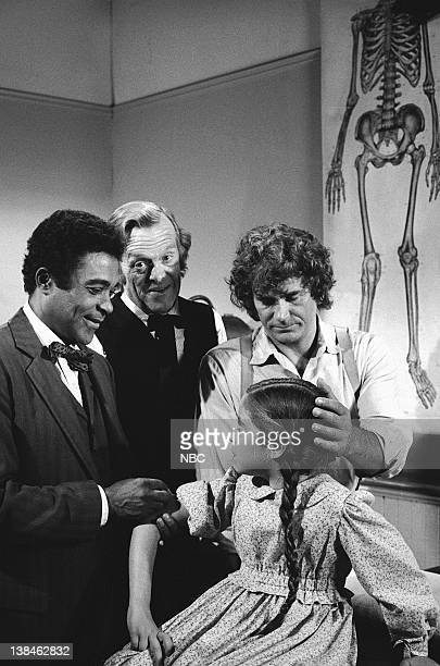 PRAIRIE Dark Sage Episode 4 Aired 10/26/81 Pictured Don Marshall as Caleb Ledoux Kevin Hagen as Dr Hiram Baker Missy Francis as Cassandra Cooper...