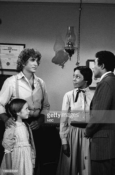 PRAIRIE Dark Sage Episode 4 Aired 10/26/81 Pictured Missy Francis as Cassandra Cooper Ingalls Michael Landon as Charles Philip Ingalls Marlene...