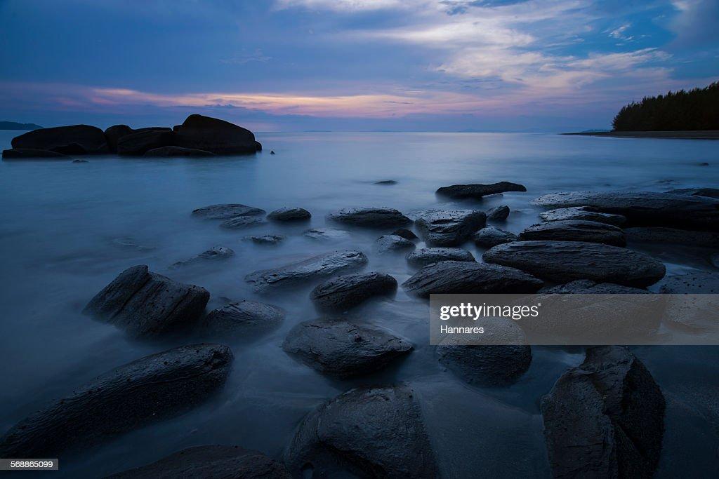 Dark sea : Stock Photo