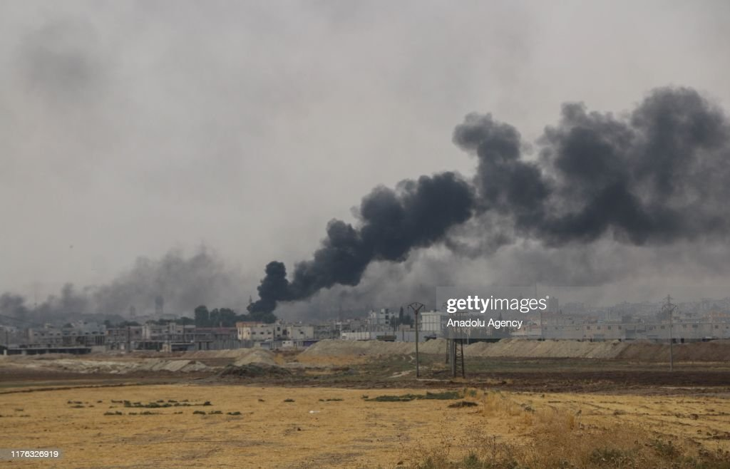 Operation Peace Spring in northern Syria : ニュース写真