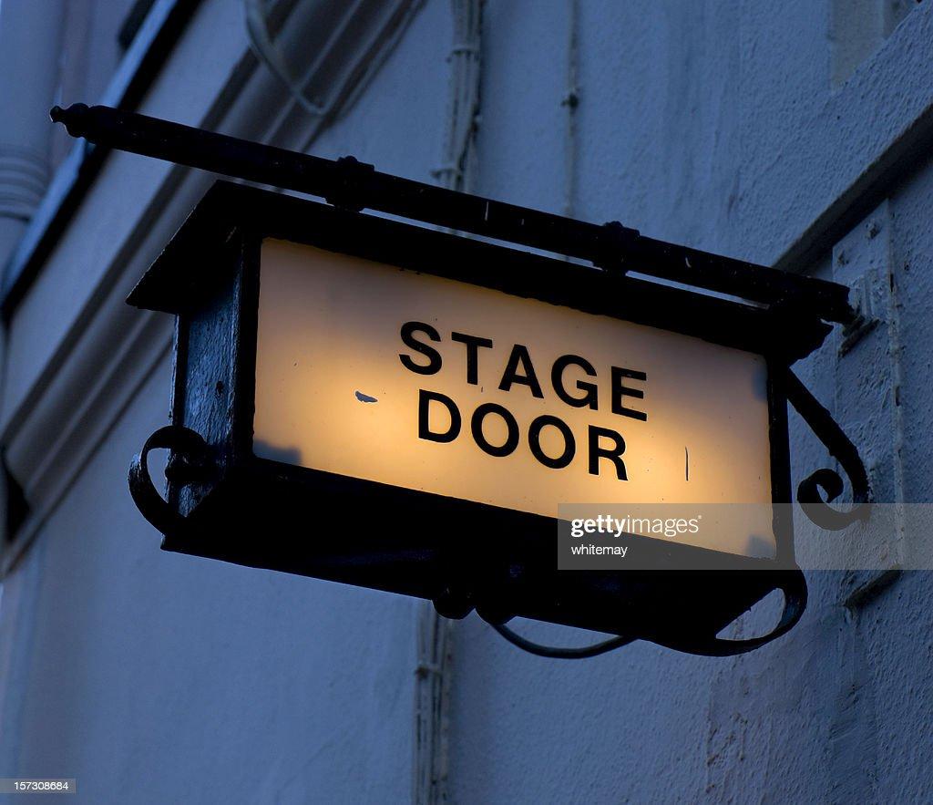Dark stage door & Stage Door Stock Photos and Pictures | Getty Images