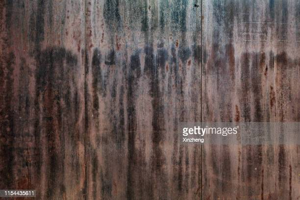 dark stained steel texture/ background - bad condition stock pictures, royalty-free photos & images
