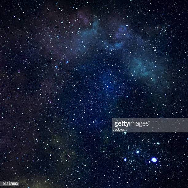 dark starry sky - star space stock pictures, royalty-free photos & images