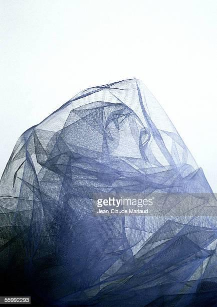 Dark transluscent fabric