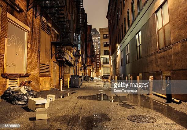 Dark Urban Street