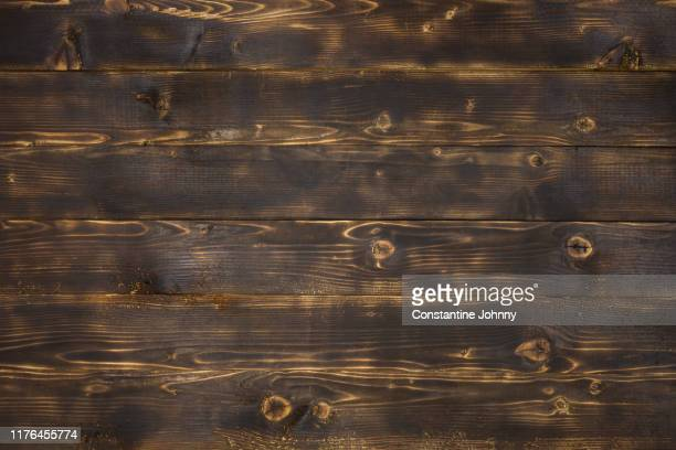 dark wood textured background - burnt stock pictures, royalty-free photos & images