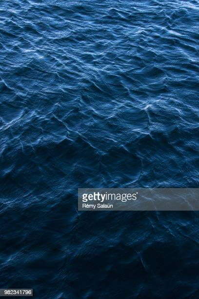 Dark-Blue Water
