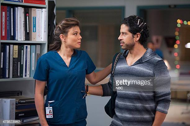 SHIFT Darkest Before Dawn Episode 214 Pictured Jeananne Goossen as Krista BellHart Adam Rodriguez as Dr Joey Chavez