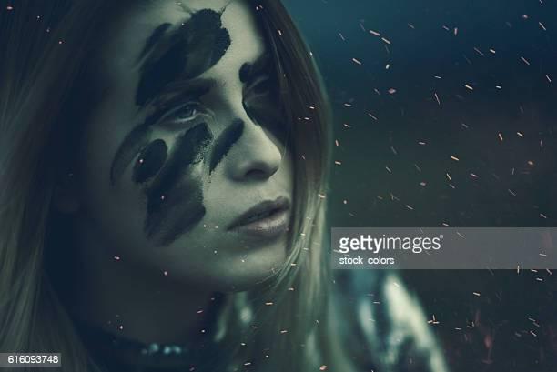 darkness in her eyes