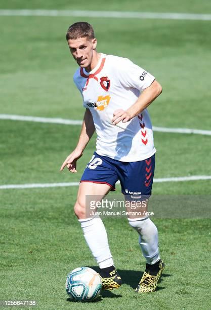 Darko Brasanac of CA Osasuna in action during the Liga match between CA Osasuna and RC Celta de Vigo at Estadio El Sadar on July 11 2020 in Pamplona...