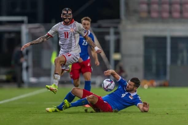 UNS: Liechtenstein v North Macedonia - 2022 FIFA World Cup Qualifier