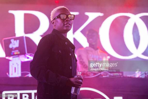 Darkoo performs on BBC Radio 1Xtra stage during Reading Festival 2021 at Richfield Avenue on August 29, 2021 in Reading, England.