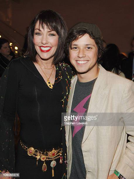 Darla Hill and Raviv 'Ricky' Ullman during 5th Annual Tribeca Film Festival The Big Bad Swim Reception at Mo Bar at The Mandarin Oriental in New York...