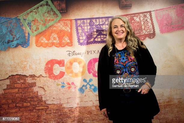 Darla K Anderson during 'Coco' Madrid Photocall on November 22 2017 in Madrid Spain