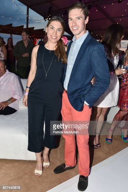 Darla Murray and Andrew Nodell attend Sixth Annual Hamptons Paddle and Party for Pink Benefitting the Breast Cancer Research Foundation at Fairview...