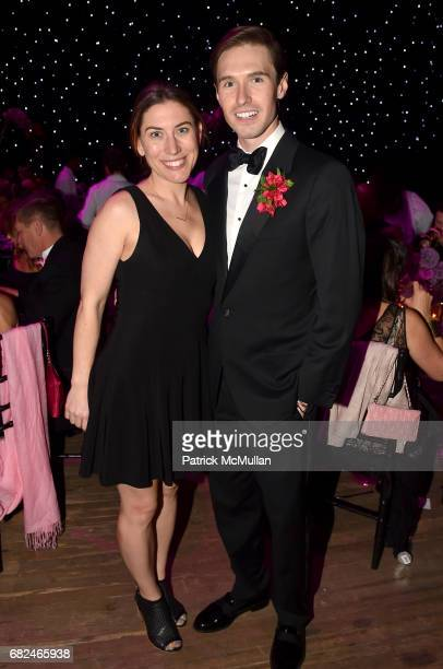 Darla Murray and Andrew Nodell attend the 2017 Hot Pink Party Super Nova presented by the Breast Cancer Research Foundation at Park Avenue Armory on...