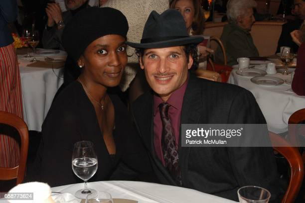 Darleen Gillard and Phillip Bloch attend Andre Leon Talley and Robert Burke host at La Caravelle for Loulou de la Falaise Collection on February 12...