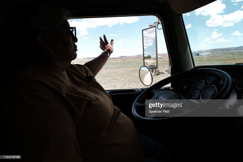 Rising Temperatures And Drought Conditions Intensify Water Shortage For Navajo Nation : News Photo