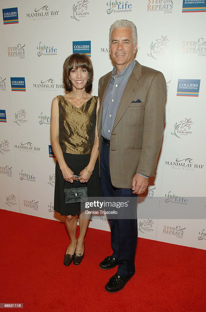 Darlene Ensign and Nevada Senator John Ensign arrive at the 2008 Lili Claire Foundations Benefit Concert at Mandalay Bay Resort & Casino Events Center on April 26, 2008 in Las Vegas, Nevada.