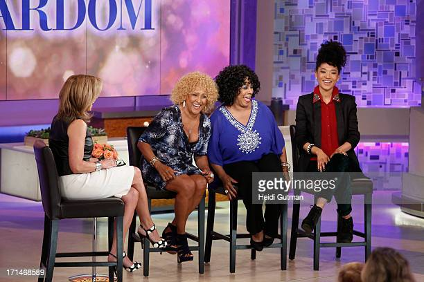 KATIE 6/26/13 Darlene Love Merry Clayton and Judith Hill from the documentary film about background singers Twenty Feet from Stardom are guests on...