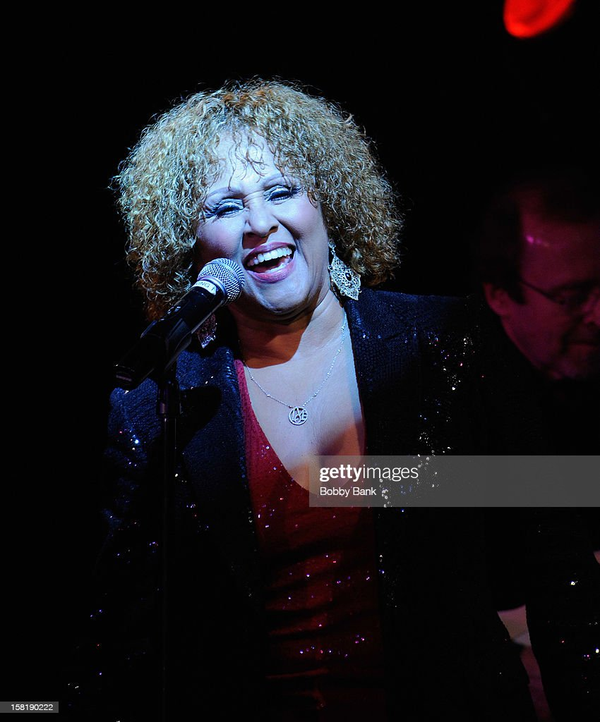 Darlene Love perfoms her 2012 Christmas Show at B.B. King Blues Club & Grill on December 10, 2012 in New York City.