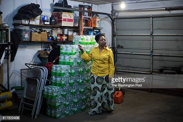 Darlene McClendon at her home in Flint Mich on Tuesday October 11 2016 Amidst a struggling school system McClendon a 6th grade teacher at Eisenhower...