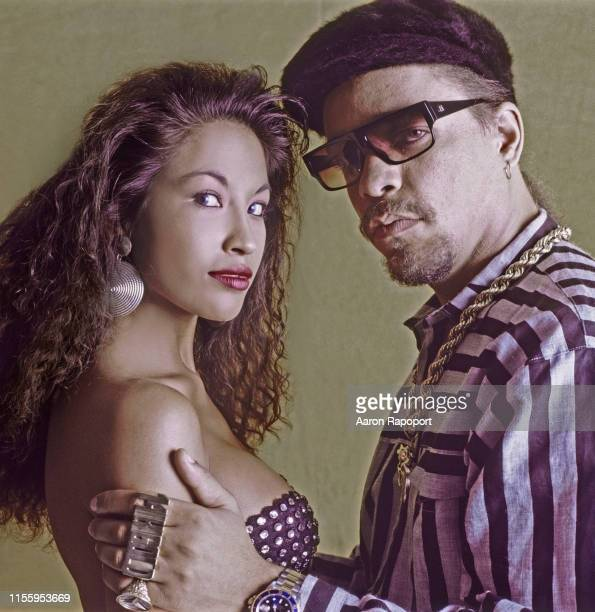 Darlene Ortiz and Icet poses for a portrait circa 1991 in Los Angeles California