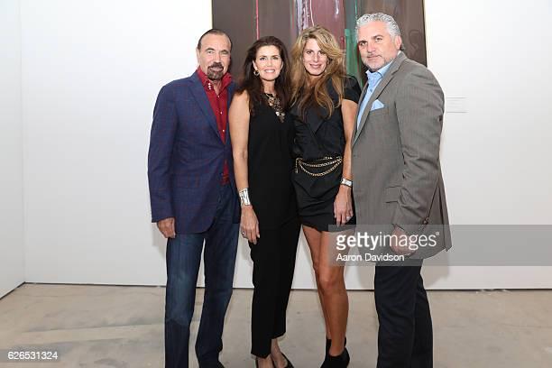 Darlene Perez Jorge Perez Pamela Cohen and Nick Korniloff attend the Art Miami 2016 VIP Preview at Art Miami Pavilion on November 29 2016 in Miami...