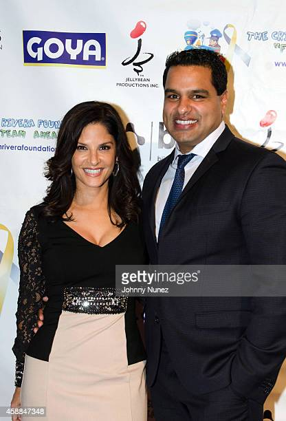 Darlene Rodriguez and David Rodriguez attend the 6th Annual Christian Rivera Foundation Gala at Broad Street Ballroom on November 11 in New York City