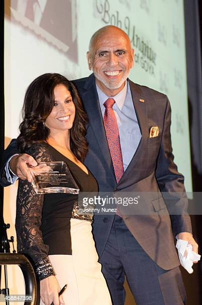 Darlene Rodriguez and Rafael Toro attend the 6th Annual Christian Rivera Foundation Gala at Broad Street Ballroom on November 11 in New York City