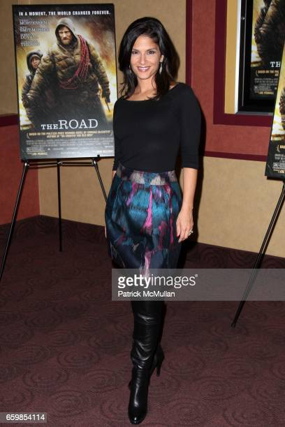 Darlene Rodriguez attends DIMENSION FILMS and 2929 PRODUCTIONS Present THE NEW YORK PREMIERE of The Road on November 16 2009