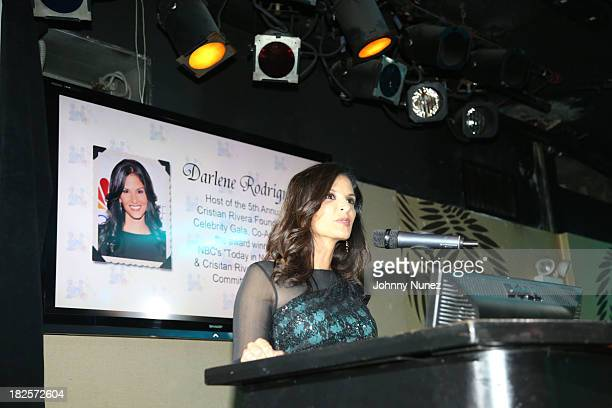 Darlene Rodriguez attends the 5th Annual Cristian Rivera Celebrity Gala at The Copa on September 30 2013 in New York City