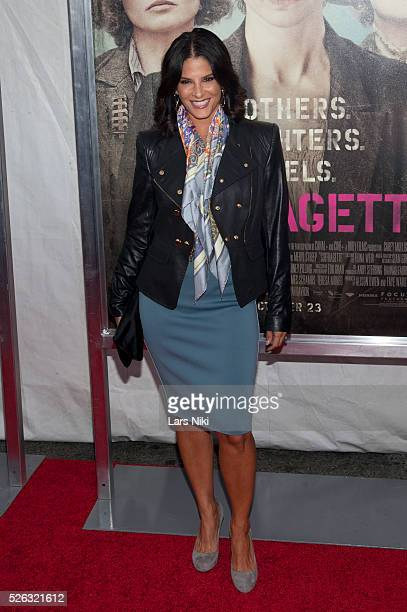 Darlene Rodriguez attends the 'Suffragette' New York premiere at the Paris Theatre in New York City �� LAN