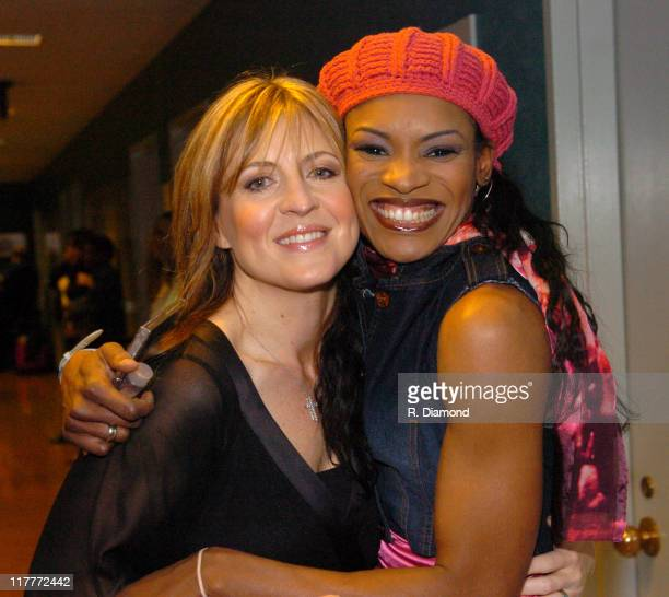 Darlene Zschech and Nicole C Mullen during 36th Annual GMA Music Awards Rehearsals at Grand Ole Opry House in Nashville Tennessee United States