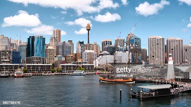 Darling Harbor on a sunny day