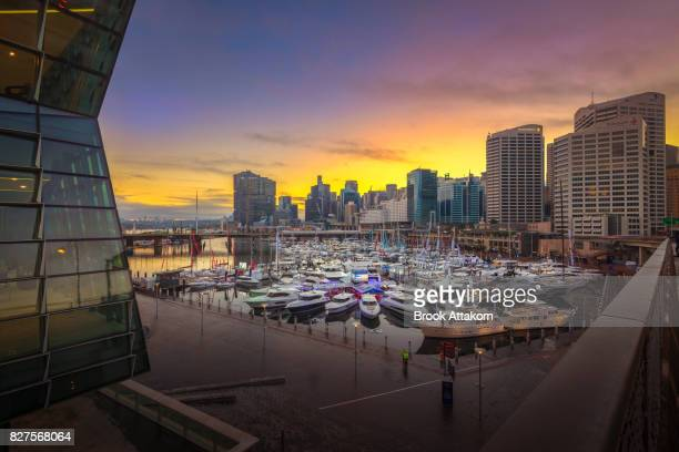 Darling Harbour and Boat.