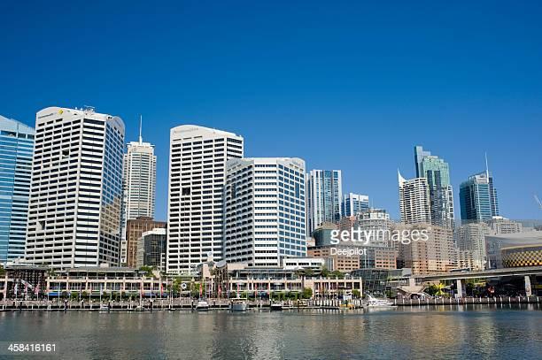 ダーリングハーバー・シドニーオーストラリアの街並み - ダーリング港 ストックフォトと画像