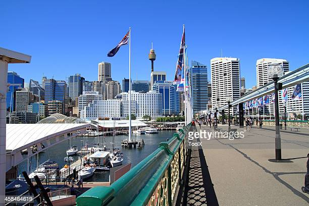 darling harbour - darling harbour stock pictures, royalty-free photos & images