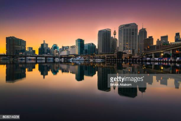 Darling Harbour reflection.