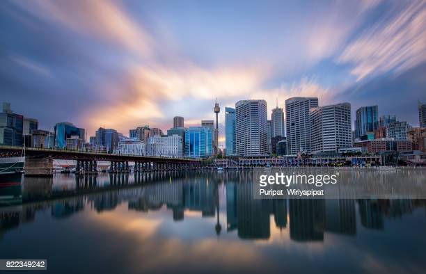 Darling harbour reflection